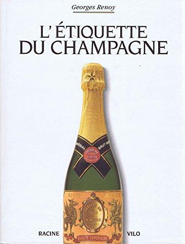 L'étiquette du champagne