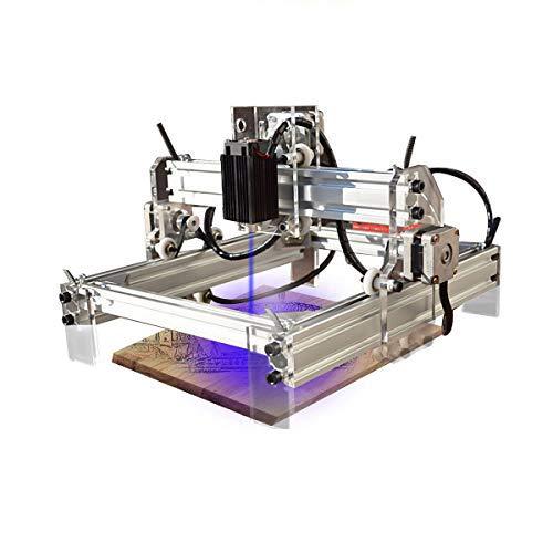 Máquina de grabado láser Pro de 3 ejes, USB, 500 mW, 20 x 17 cm, fresadora CNC