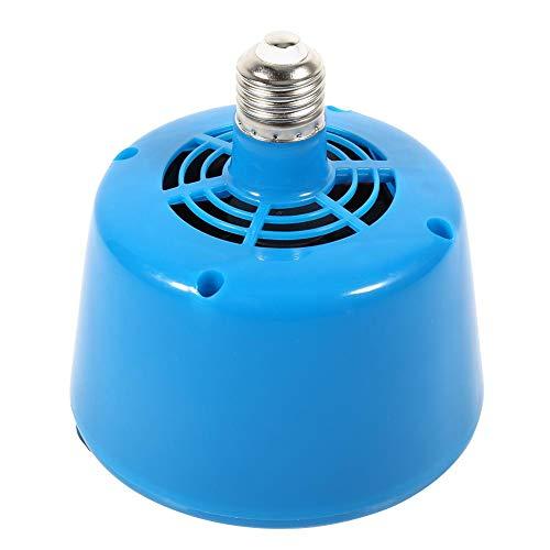 Broco Lámpara de Calor para Mascotas, E27 Lámpara de Calor para Aves de Corral para criadores Lámpara para Aves de Corral Bombilla Criadora Lechones Pollo para Mascotas(Azul)