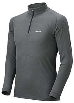[モンベル] アウトドア 登山 サイクリング 長袖ハイネックシャツ 軽量 速乾 ジオライン L.W. ハイネックシャツ 1107488 [メンズ]