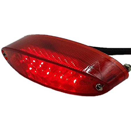 Motorrad Led Brems Stopp Rücklicht Atv Dual Sport Quad Bobber Arctic Katze Utv Custom Rot Auto