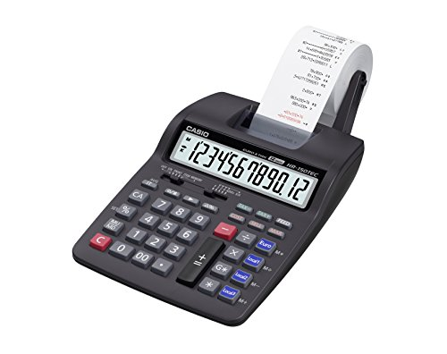 Casio HR-150TEC Tafelrekenmachine met print.