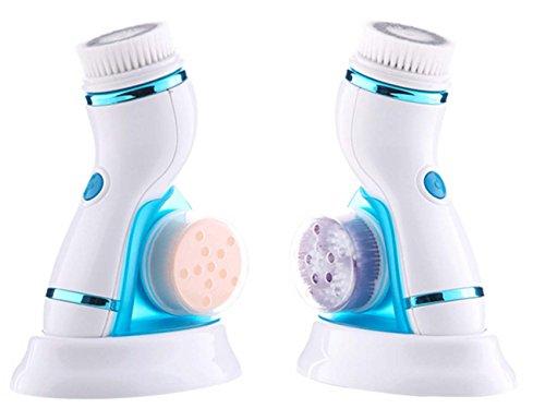 Elitzia Skin Care Pore Cleanser Blackhead Remover Face Massager 4 in 1 Electric Beauty Device ETAE8286B (Bleu)