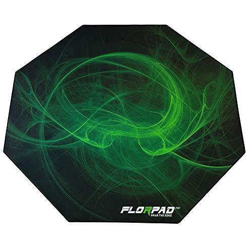 Florpad Gamer-/Esport-Bodenschutzmatte - weich - 116x116cm - Core (Venom)