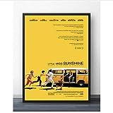 PDFKE Little Miss Sunshine Movie Painting Poster Prints