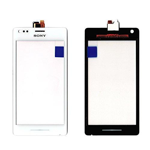Vitre Écran Tactile Blanc Sony Xperia M (C1904/C1905) + Adhésif double face + outils–facciata Blanche (Vendu Sans LCD)
