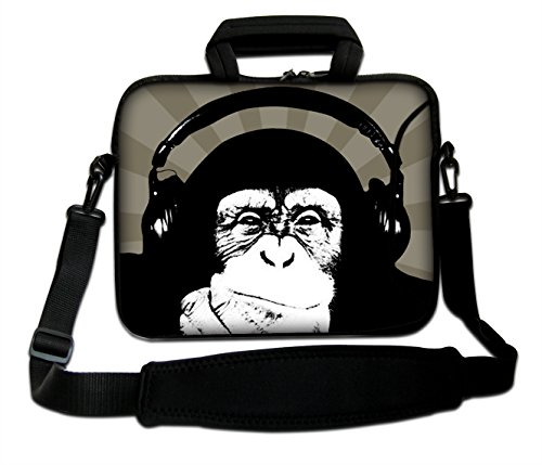 AUPET 13-13.3' Shoulder Bag with Adjustable Strap & Extra Pocket
