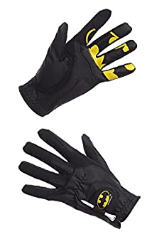 Creative Covers for Golf Malebatman Golf Glove - Men s O/S Black/Yellow One Size