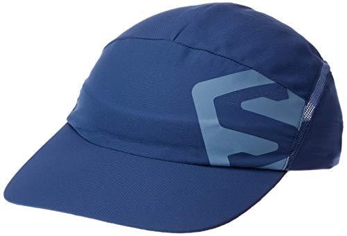 SALOMON XA Cap Gorra de Malla Impermeable, Unisex Adulto, Azul, L/XL
