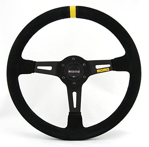 Momo MOM11150085221 11150085221 Steering Volante Steering Wheel 8350 mm Lisa Black Skin