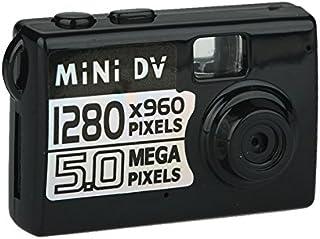 LaDicha Xanes 5Mp HD Mini Dv Cámara De Vídeo Digital Webcam Dvr Grabadora De Conducción De Videocámara