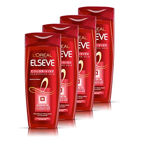 que choisir L'Oreal Paris Elzeb Color Vibe Care Shampooing 250 ml-4 pcs. choix