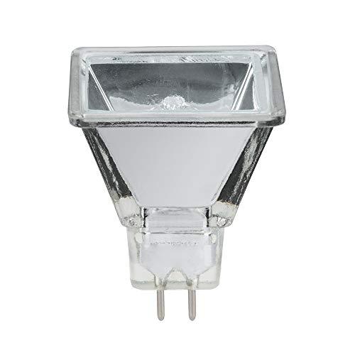 Halogen Reflektorlampe Quadro 20W GU5,3 2000h Silber quadratisch warmweiß 2900K dimmbar 75°