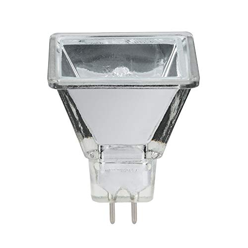 Halogen Reflektorlampe Quadro 35W GU5,3 2000h Silber quadratisch warmweiß 2900K dimmbar 75°