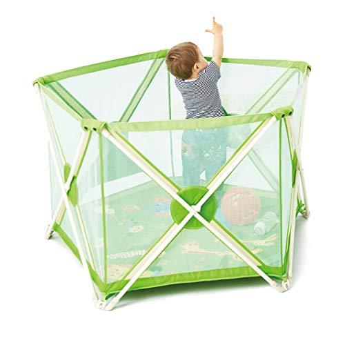 Weq Children's hek binnen spel hek zeshoek veiligheid hek familie speelplaats metalen hek, gratis installatie ontwerp