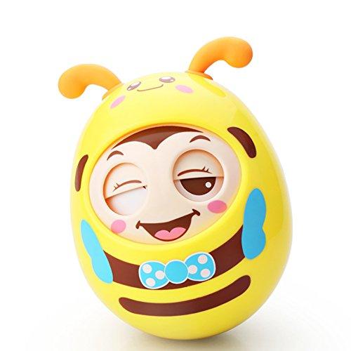 roly-poly tumbler Baby Toy, neonato massaggiagengive giocattoli con campana Annuendo bambola giocattoli educativi novità
