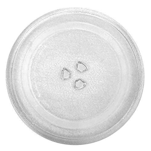 Plato giratorio de repuesto de 315 mm para microondas, plato de cristal universal para microondas, con guante de horno