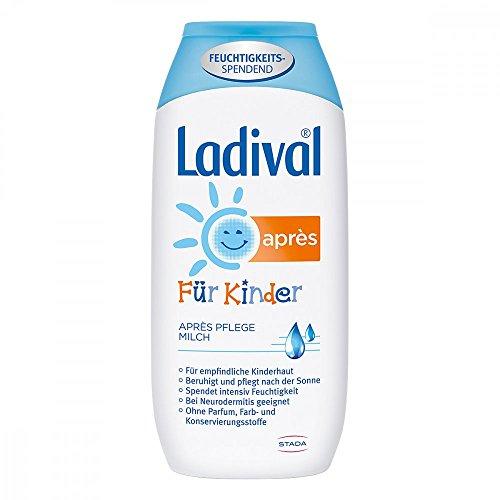 Ladival für Kinder Après Pflege-Milch, 200 ml Lotion