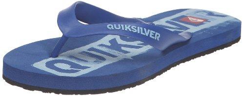 Quiksilver QS, Chanclas Hombre, Azul, 42