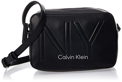 Calvin Klein - Ck Must Psp20 Camerabag Ny, Bolsos bandolera Mujer, Negro (Black), 0.1x0.1x0.1 cm (W x H L)