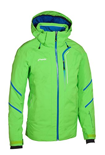 Phenix Herren Lightning Jacket Skijacke, Yellow Green, 56
