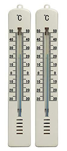 Preisjubel 2 x Kühlschrankthermometer, Gefrierfach, Kühlschrank, Gefriertruhe, Thermometer
