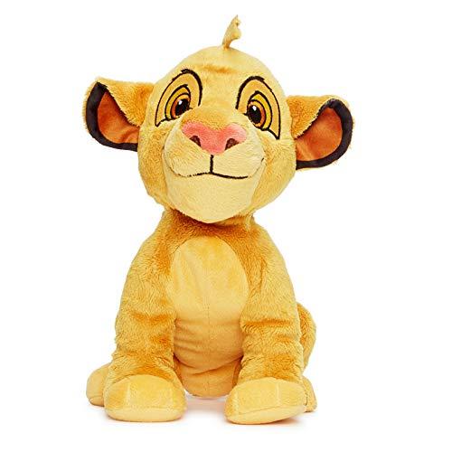 Posh Paws 37286 Simba Plüschtier, Disney\'s der Löwe, in Geschenkbox, Mehrfarbig