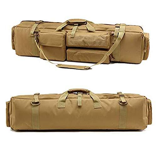 HomeArts Sac à Dos Tactique Militaire Double Long Rifle Pistolet Gun Case Bag pour la Chasse Champ de tir Stockage Sportif et Transport Longueur en 37\
