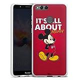 DeinDesign Coque en Silicone Compatible avec Huawei Honor 7X Étui Silicone Coque Souple Souris...