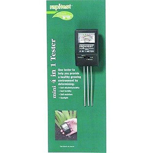 Great Deal! GrandSiri Growing Environment 4in1 Mini pH Tester Plant Moisture Soil Test Healthy
