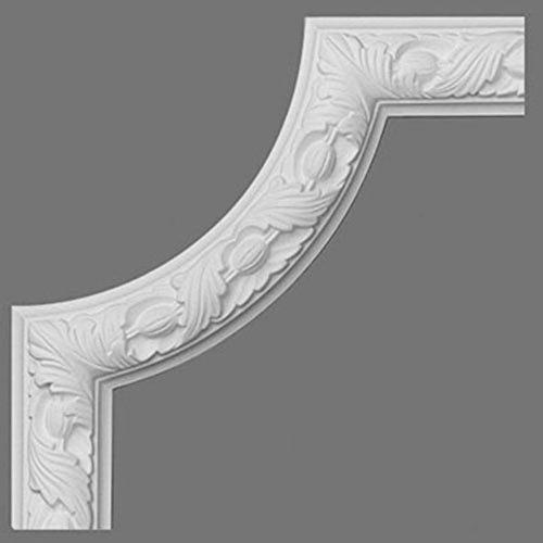 Elemento decorativo de estuco para cornisa moldura Orac Decor P101A LUXXUS Elemento angular 25 cm