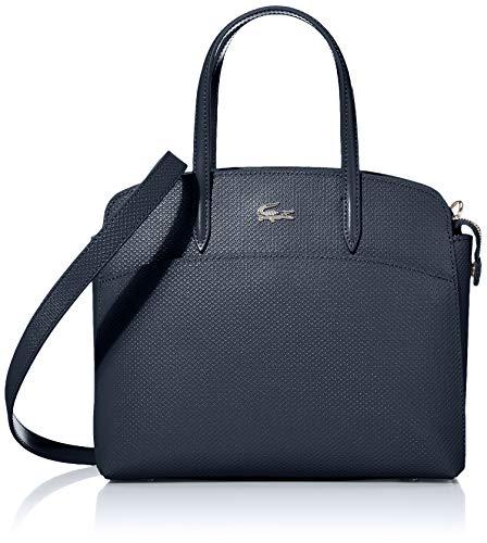 Lacoste Chantaco Pocket Top Handle Bag, Light Adriatic Blue