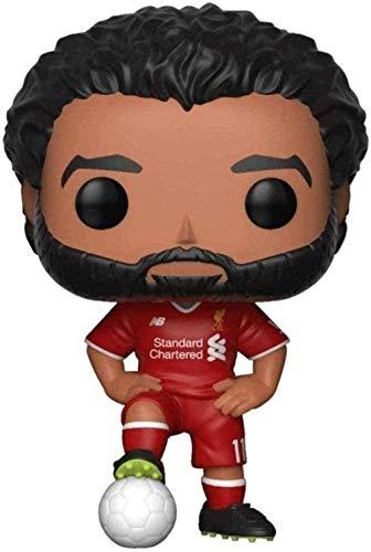 A-Generic Pop Vinyl Pop Sports Fútbol: Liverpool - Mohamed Salah Estándar 3 9 Figuras de Vinilo