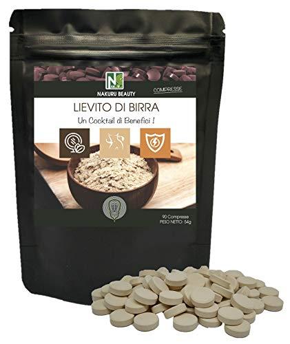 Lievito di Birra/NAKURU Beauty/Polvere organica secca e compressa a freddo/Analizzata e condizionata in Francia /