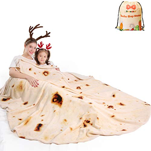 Burritos Blanket for Adult and Kids