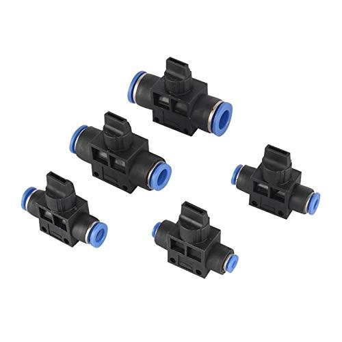 Kit de conectores conjuntos de manguera Irrigación con agua de jardín 4 mm 6 mm 8 mm 10 mm 12MMT Tipo Tipo de conexión de agua Conector de conexión de cable Limitador de velocidad Control de velocidad