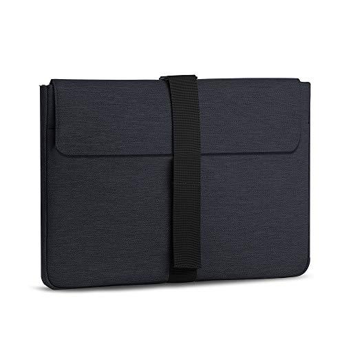 AtailorBird Laptophülle, Laptoptasche 15,6 Zoll Ultrabook Notebook Handtasche Schutzhülle stoßfest Notebooktasche Laptop Schutztasche(Schwarz)