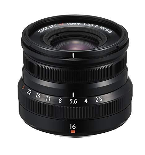 Fujinon XF16mmF2.8 R WR Objektiv, Schwarz