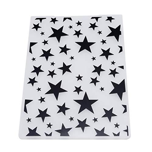 Plantilla de carpeta de plástico con diseño de mariposa para manualidades, para álbumes de recortes, creativos y útiles