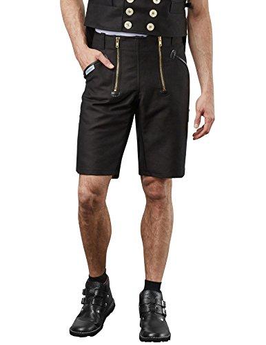 PIONIER WORKWEAR Herren Zunftshorts Herforder Zunftkleidung in schwarz (Art.-Nr. 2110) Größe 50