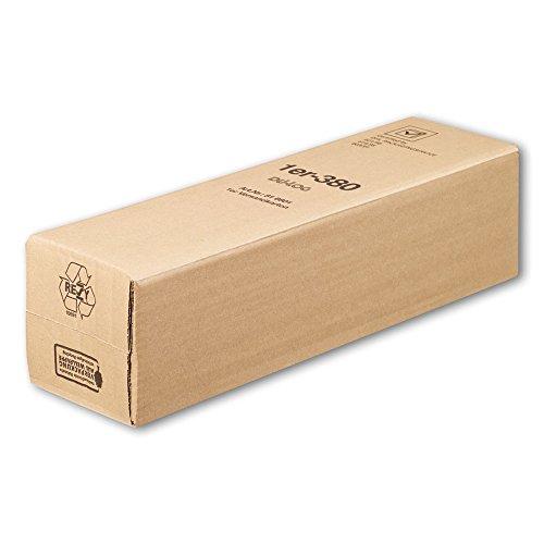 25x 1er Versandkarton für Geschenkkartons DHL/PTZ-geprüft, 41 x 9,5 x 11cm
