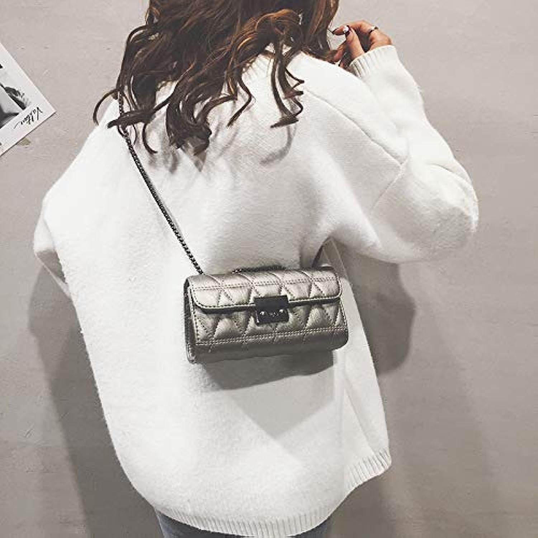 WANGZHAO Hot Bags, Women's Bags, New Trend, Korean Version, Joker Chain, Hong Kong Wind Fairy'S Satchel