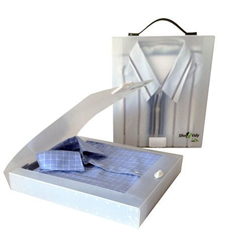 Shirt Tidy Cabin Max - confezione da 2 - Soluzione facile per mettere le tue camicie in valigia (White)