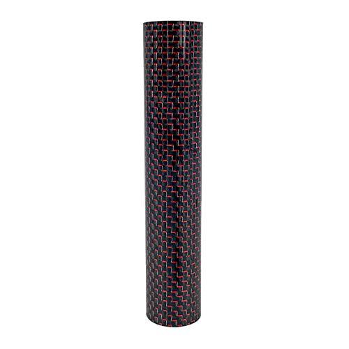 Moze Breeze Sleeve - Design Rauchsäulen Zubehör für Moze Breeze Shisha - große Design Auswahl Carbon Red