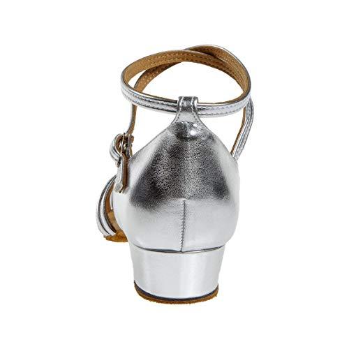 Diamant Damen 008-035-013 Standard-& Latintanzschuhe, (Silber 013), 38 2/3 EU - 7