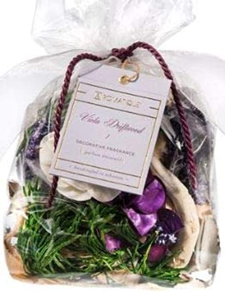 Aromatique Viola Driftwood Decorative Fragrance Potpourri 5 Oz Bag