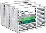 FilterBuy 20x25x5 Air Filter (4-Pack, MERV...