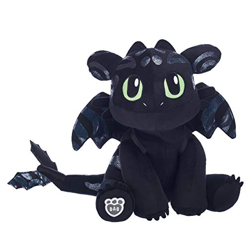 Build A Bear Workshop Special Edition Hidden World Toothless Plush Stuffed Animal, 15 Inches