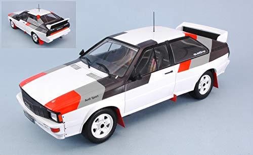 per AUDI QUATTRO GROUP B CAR 1982 1:18 - Ixo Model - Auto Rally - Die Cast - Modellino