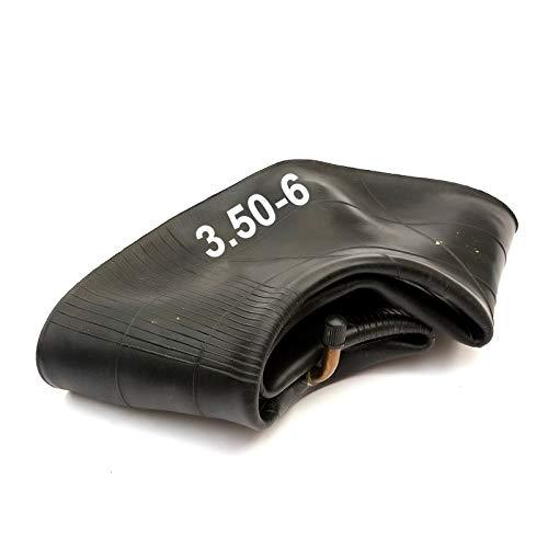 6 Inch Rueda Carretilla Interior Tubo 3.50-6 350-6 350x6 Doblada Válvula Carretilla Neumático